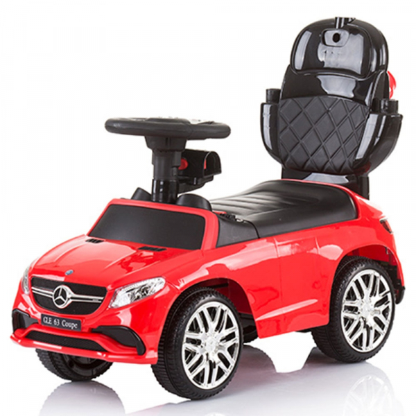 Masinuta de impins Chipolino Mercedes AMG GLE 63 Coupe red cu maner si copertina [3]