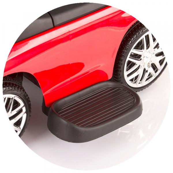 Masinuta de impins Chipolino Mercedes AMG GLE 63 Coupe red cu maner si copertina [4]