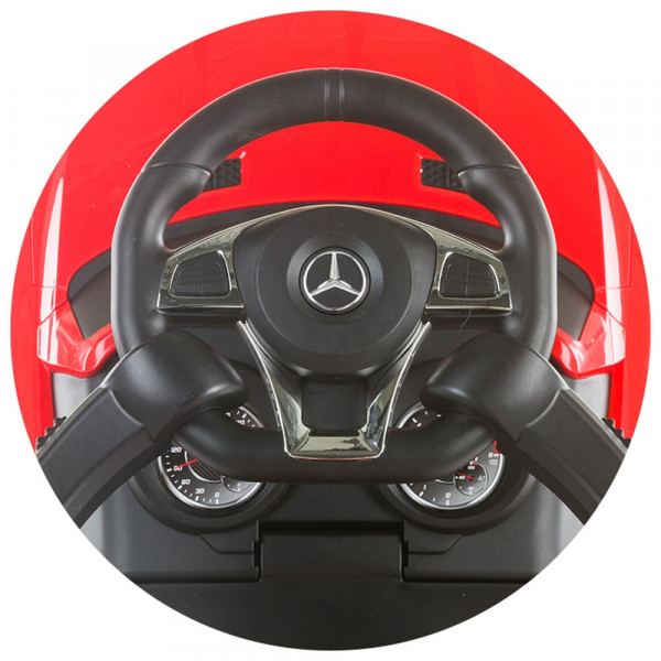 Masinuta de impins Chipolino Mercedes AMG GLE 63 red [5]