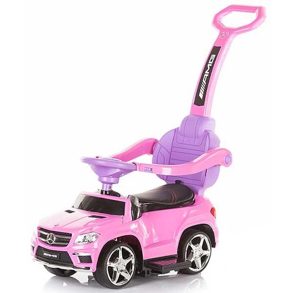 Masinuta de impins Chipolino Mercedes Benz GL63 AMG pink [0]