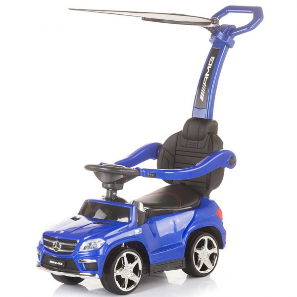 Masinuta de impins cu copertina Chipolino Mercedes Benz GL63 AMG blue 0