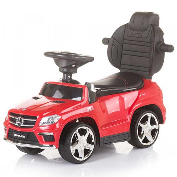 Masinuta de impins cu copertina Chipolino Mercedes Benz GL63 AMG red 4