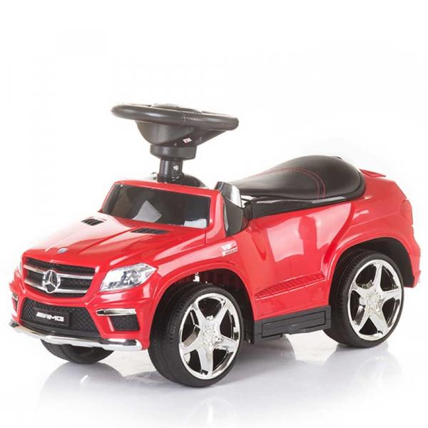 Masinuta de impins cu copertina Chipolino Mercedes Benz GL63 AMG red 5