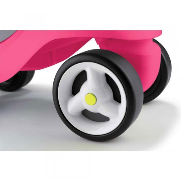 Masinuta de impins Smoby Bubble Go 2 in 1 pink 7
