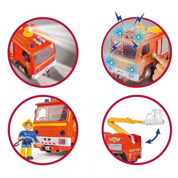 Masinuta de pompieri Simba Fireman Sam Jupiter 2.0 5