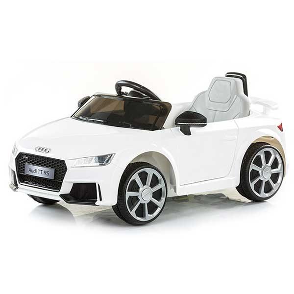 Masinuta electrica Chipolino Audi TT RS white 4