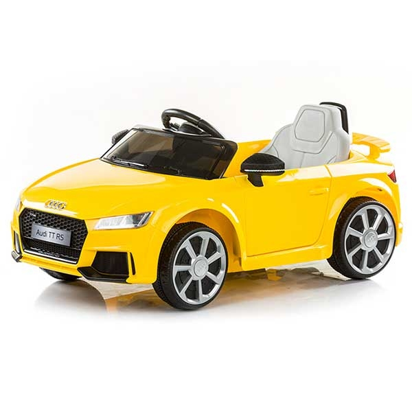 Masinuta electrica Chipolino Audi TT RS yellow 4