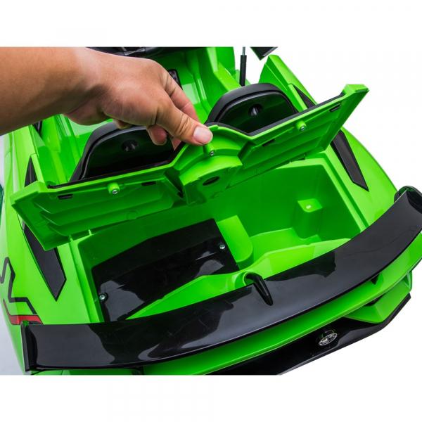 Masinuta electrica Chipolino Lamborghini Aventador SVJ green 21