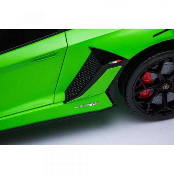 Masinuta electrica Chipolino Lamborghini Aventador SVJ green 11