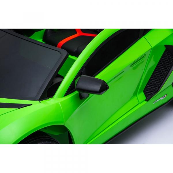 Masinuta electrica Chipolino Lamborghini Aventador SVJ green 9