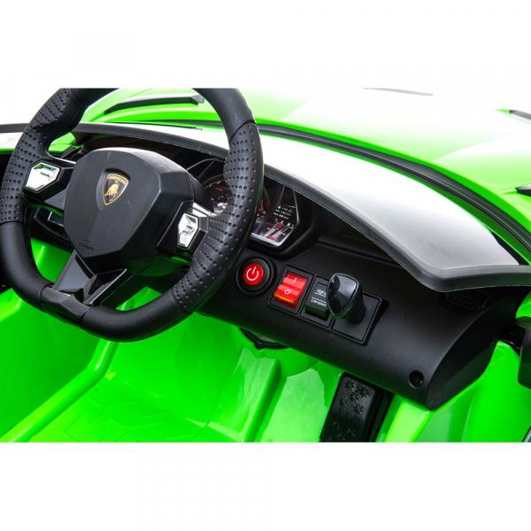 Masinuta electrica Chipolino Lamborghini Aventador SVJ green 17