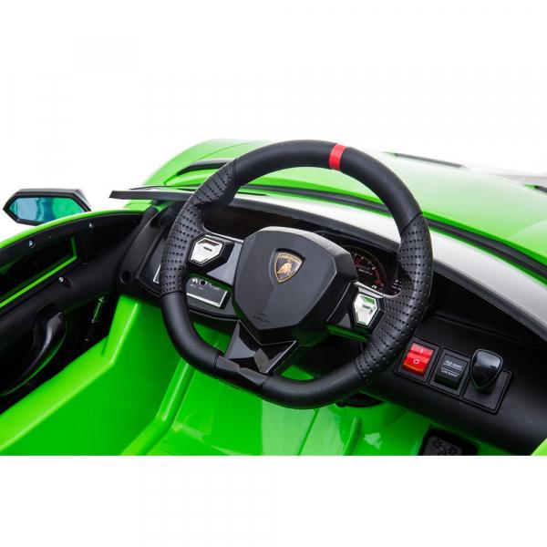 Masinuta electrica Chipolino Lamborghini Aventador SVJ green 13