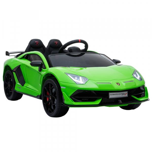 Masinuta electrica Chipolino Lamborghini Aventador SVJ green 6