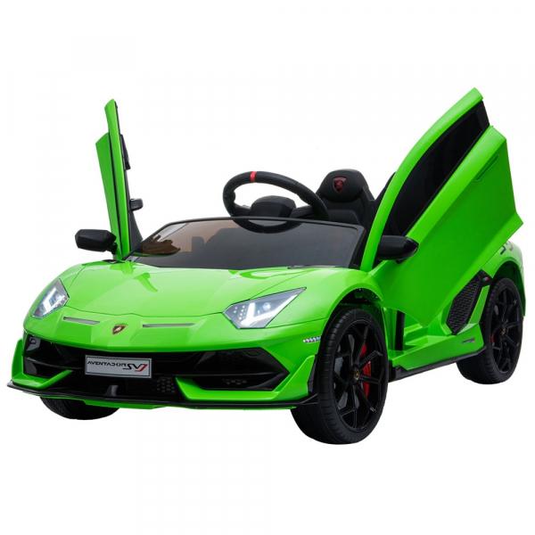 Masinuta electrica Chipolino Lamborghini Aventador SVJ green 0