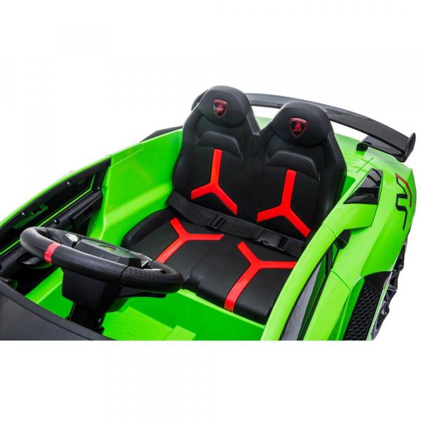Masinuta electrica Chipolino Lamborghini Aventador SVJ green 12