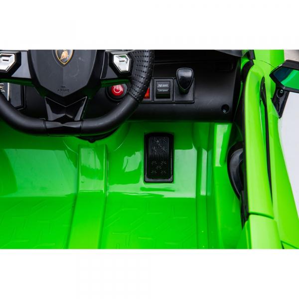 Masinuta electrica Chipolino Lamborghini Aventador SVJ green 14