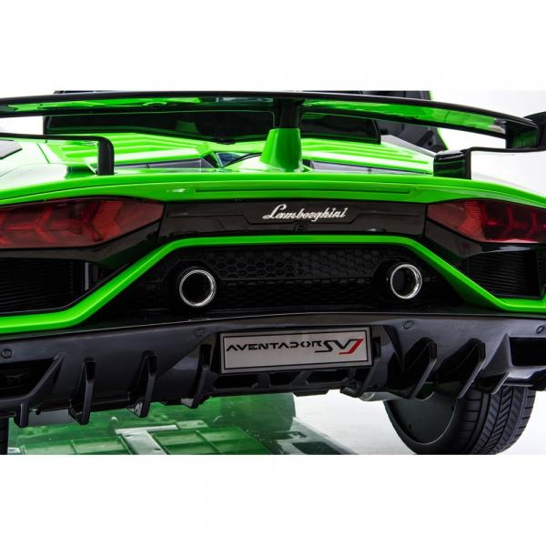 Masinuta electrica Chipolino Lamborghini Aventador SVJ green 19