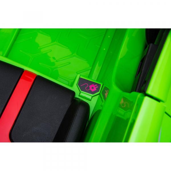 Masinuta electrica Chipolino Lamborghini Aventador SVJ green 15