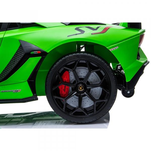 Masinuta electrica Chipolino Lamborghini Aventador SVJ green 20