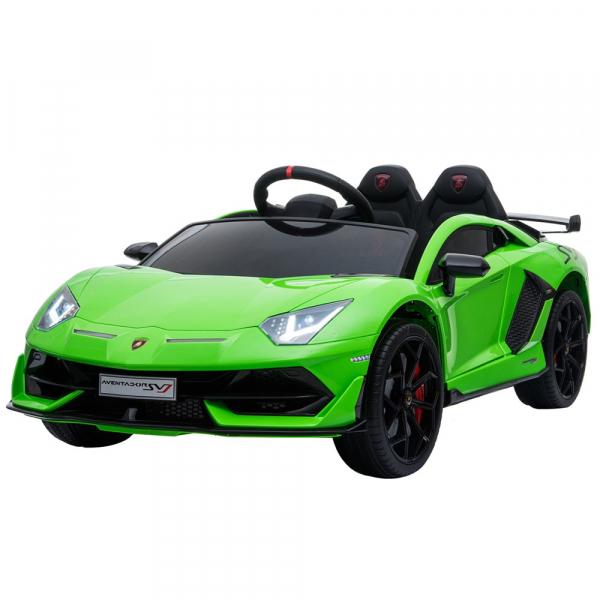 Masinuta electrica Chipolino Lamborghini Aventador SVJ green 1