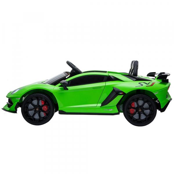 Masinuta electrica Chipolino Lamborghini Aventador SVJ green 2