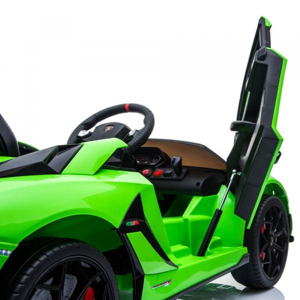 Masinuta electrica Chipolino Lamborghini Aventador SVJ green 16