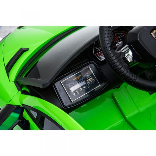 Masinuta electrica Chipolino Lamborghini Aventador SVJ green 18