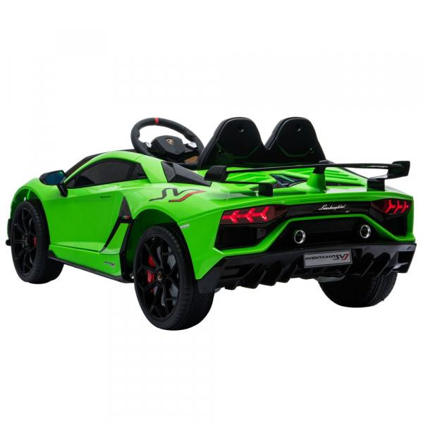 Masinuta electrica Chipolino Lamborghini Aventador SVJ green 3