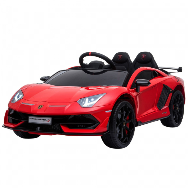 Masinuta electrica Chipolino Lamborghini Aventador SVJ red [1]