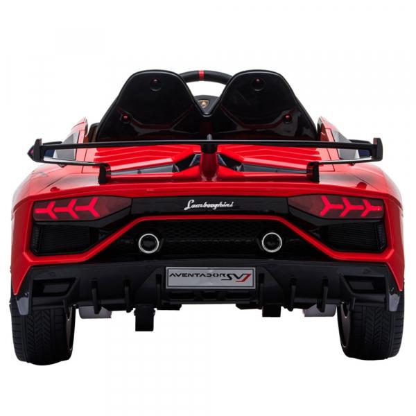 Masinuta electrica Chipolino Lamborghini Aventador SVJ red [5]