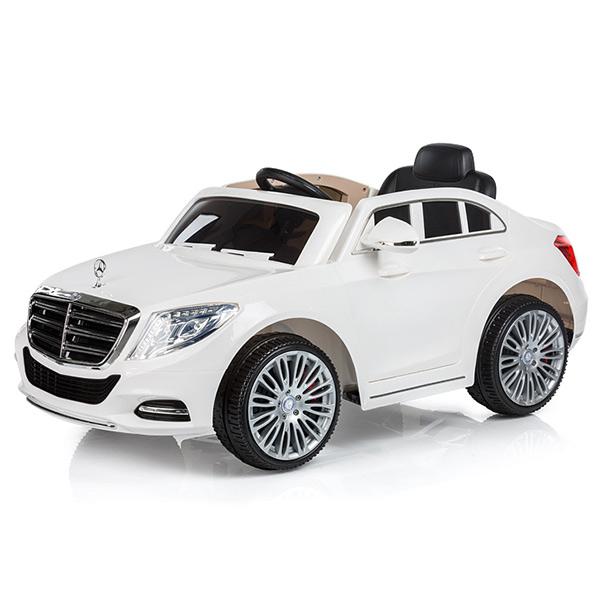 Masinuta electrica Chipolino Mercedes Benz S Class white [0]