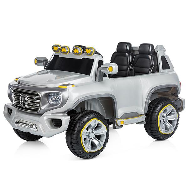 Masinuta electrica Chipolino SUV Mercedes Benz G Force silver [0]