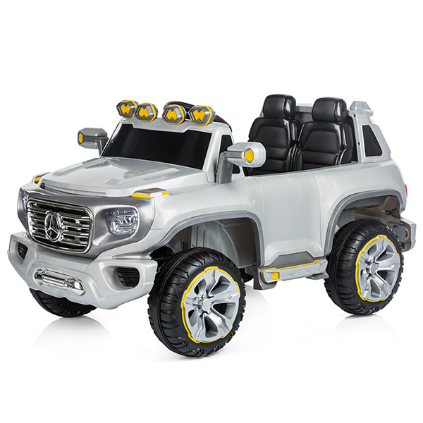 Masinuta electrica Chipolino SUV Mercedes Benz G Force silver [4]