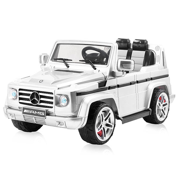 Masinuta electrica Chipolino SUV Mercedes Benz G55 white [0]