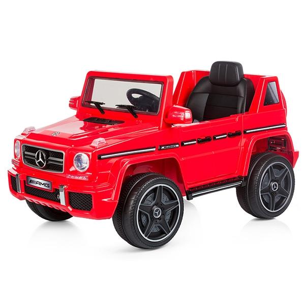 Masinuta electrica Chipolino SUV Mercedes Benz G63 red [0]