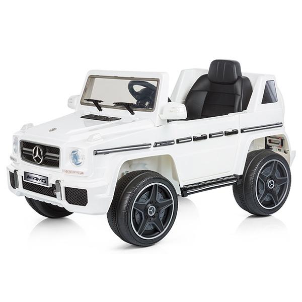 Masinuta electrica Chipolino SUV Mercedes Benz G63 white [2]