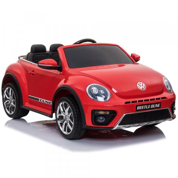 Masinuta electrica Chipolino Volkswagen Beetle Dune red 6