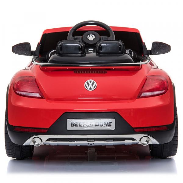 Masinuta electrica Chipolino Volkswagen Beetle Dune red 4