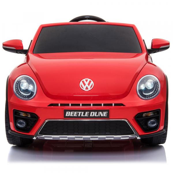 Masinuta electrica Chipolino Volkswagen Beetle Dune red 1