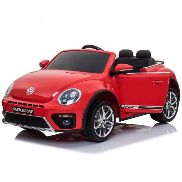 Masinuta electrica Chipolino Volkswagen Beetle Dune red 8