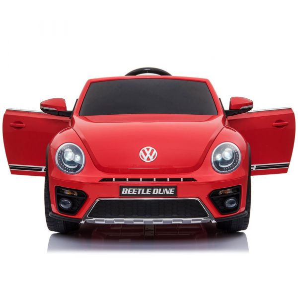 Masinuta electrica Chipolino Volkswagen Beetle Dune red 7