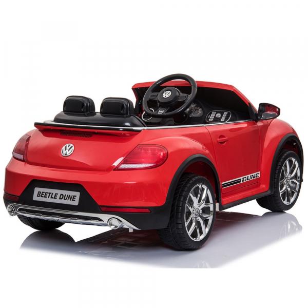 Masinuta electrica Chipolino Volkswagen Beetle Dune red 5