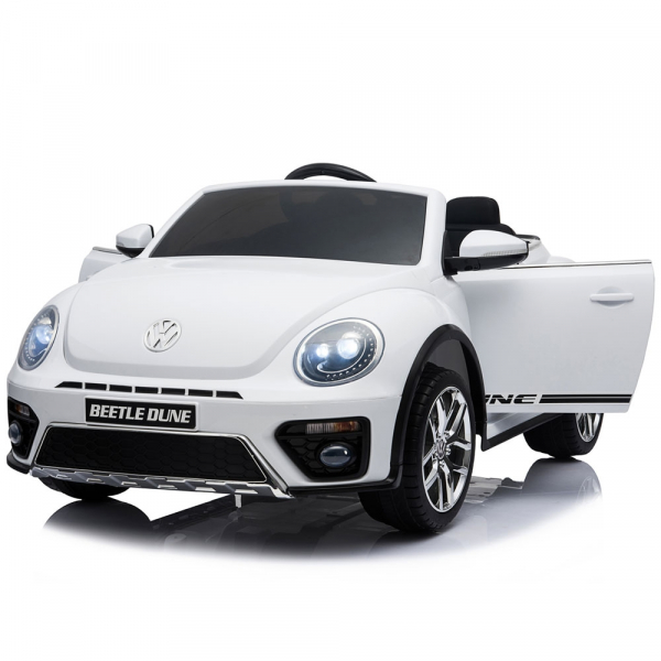 Masinuta electrica Chipolino Volkswagen Beetle Dune white [9]
