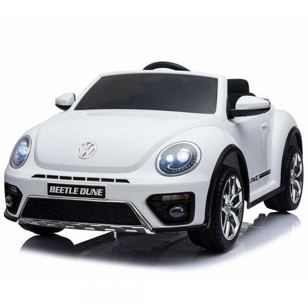 Masinuta electrica Chipolino Volkswagen Beetle Dune white [2]