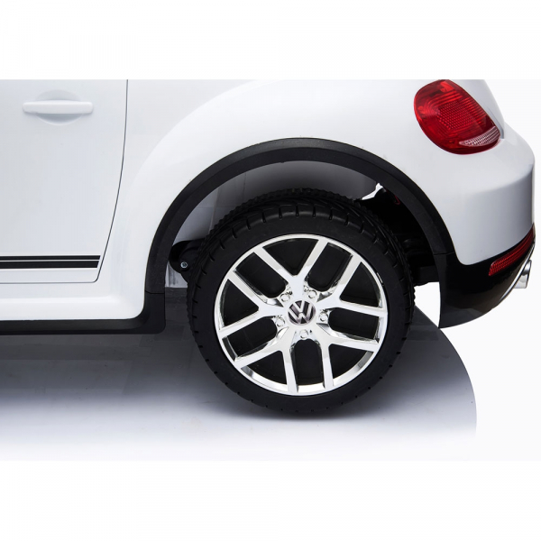 Masinuta electrica Chipolino Volkswagen Beetle Dune white [19]