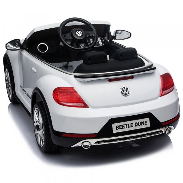 Masinuta electrica Chipolino Volkswagen Beetle Dune white [13]