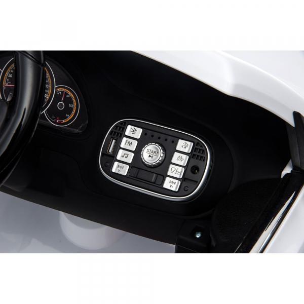 Masinuta electrica Chipolino Volkswagen Beetle Dune white [22]