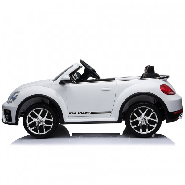 Masinuta electrica Chipolino Volkswagen Beetle Dune white [4]