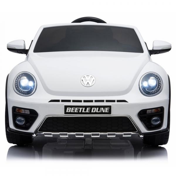 Masinuta electrica Chipolino Volkswagen Beetle Dune white [1]