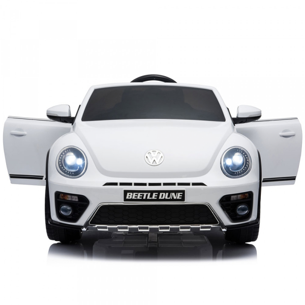 Masinuta electrica Chipolino Volkswagen Beetle Dune white [8]